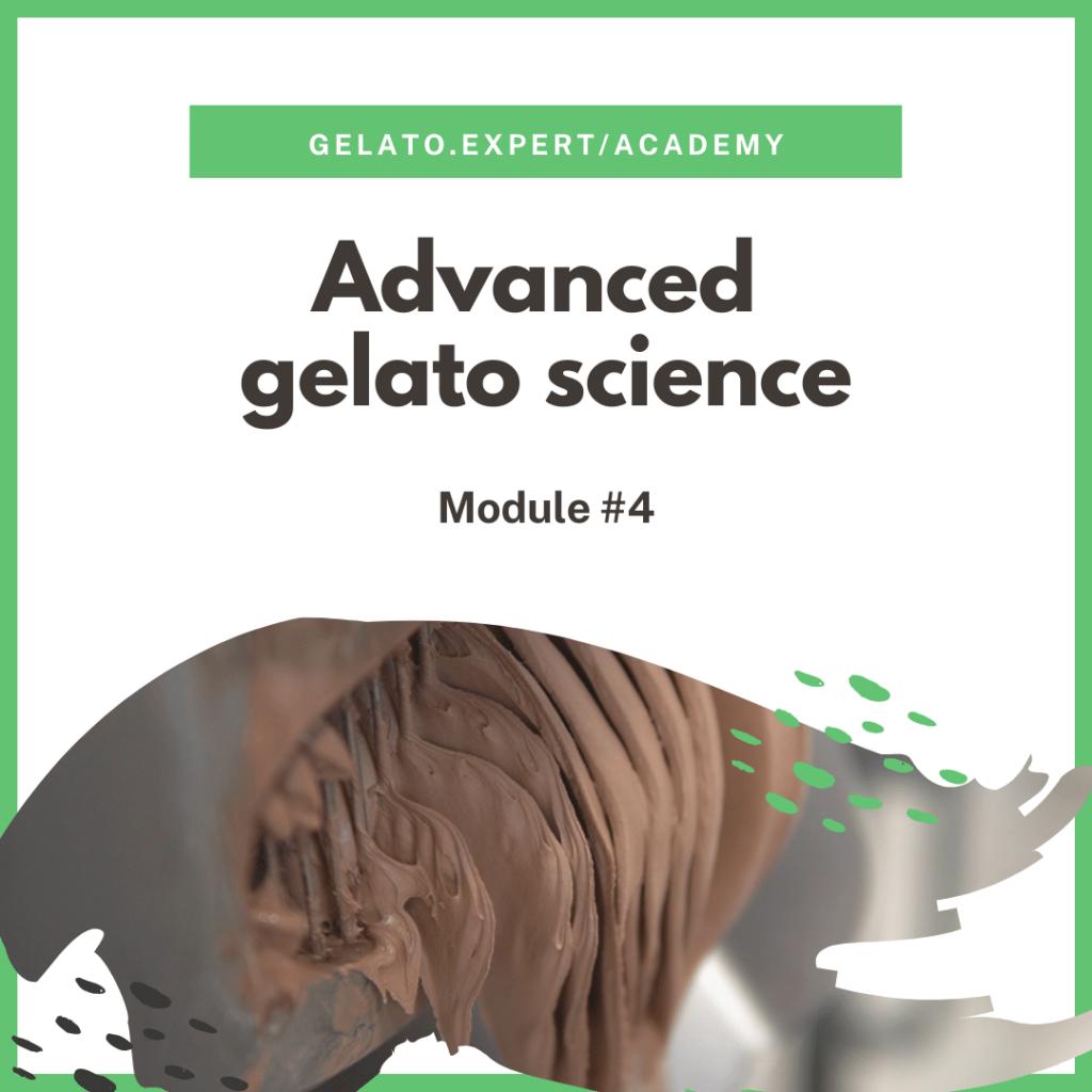 Advanced gelato science